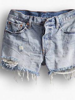Levi's Medium Wash Shorts