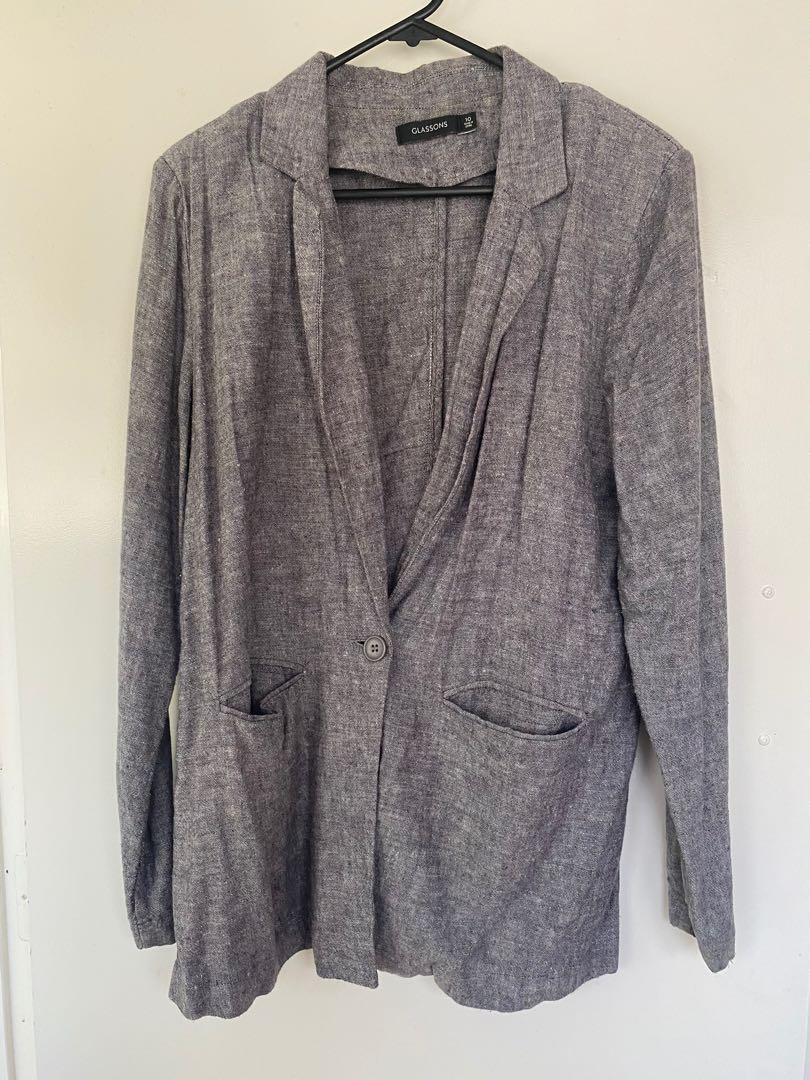Linen suit set