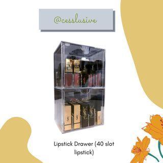 LIPSTICK DRAWER/ LACI LIPSTICK/ LIPSTICK BOX ACRYLIC
