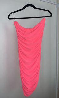 M Boutique Pink Tube Dress