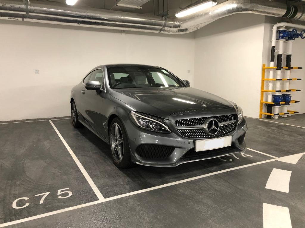Mercedes-Benz C300 Coupe (A)