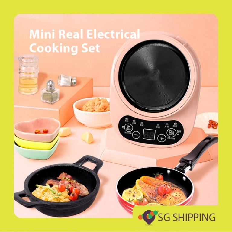 Mini Real Electrical Cooking Set Kitchen Set Masterchef Junior Not Picky Eaters Cultivate Interest Toys Games Others On Carousell