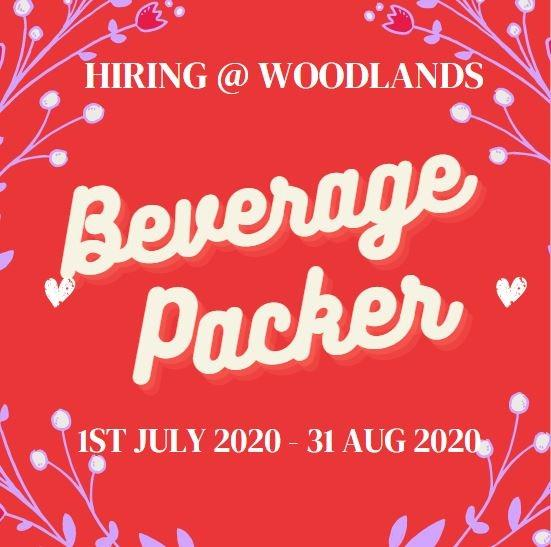 PACKER @ North | $8/Hr | 5 Days | 2 Month Contract