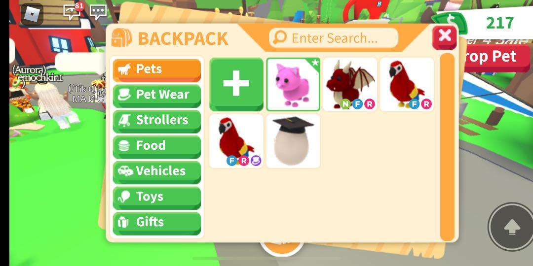 Roblox Adopt Me Trade Only Toys Games Video Gaming Video Games On Carousell