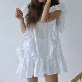 Brand New Ruffled Dress
