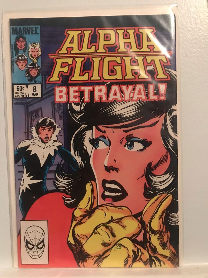 SELLING ALPHA FLIGHT #8!