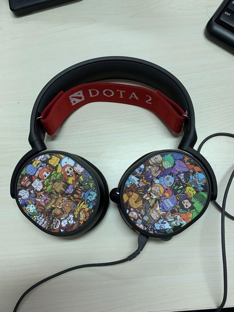 STEELSERIES Arctis 5 Dota 2 Limited Edition