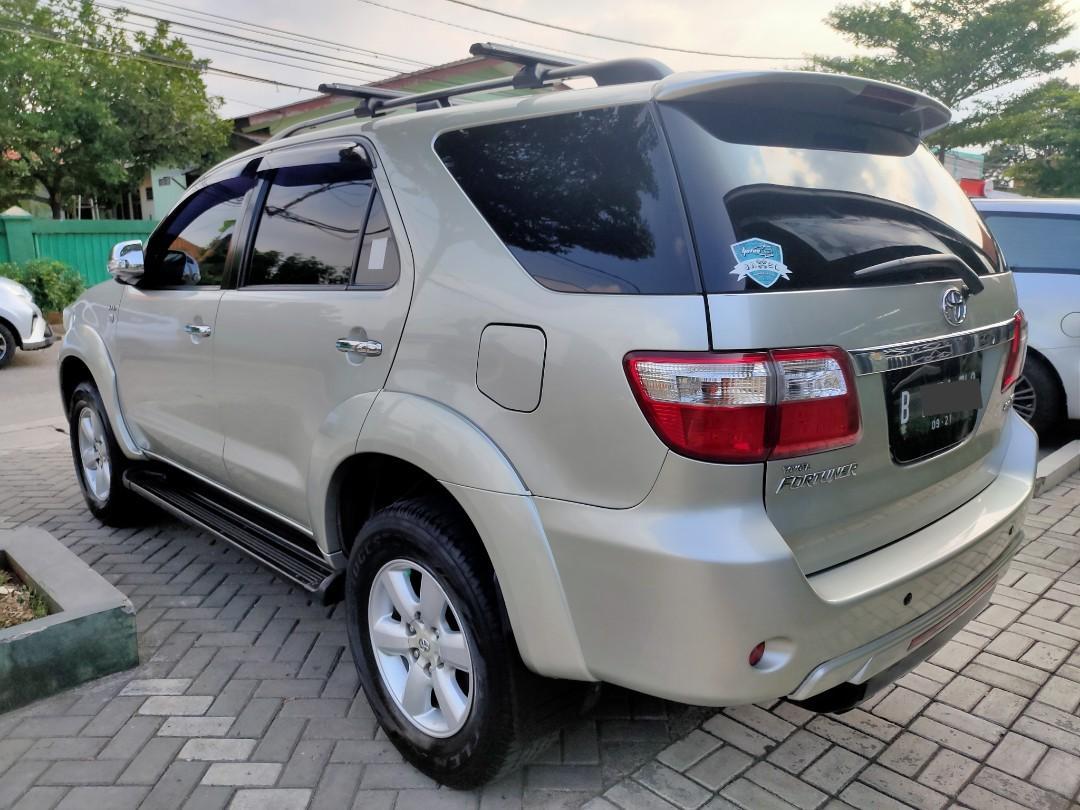 Toyota Fortuner G Diesel matic 2011