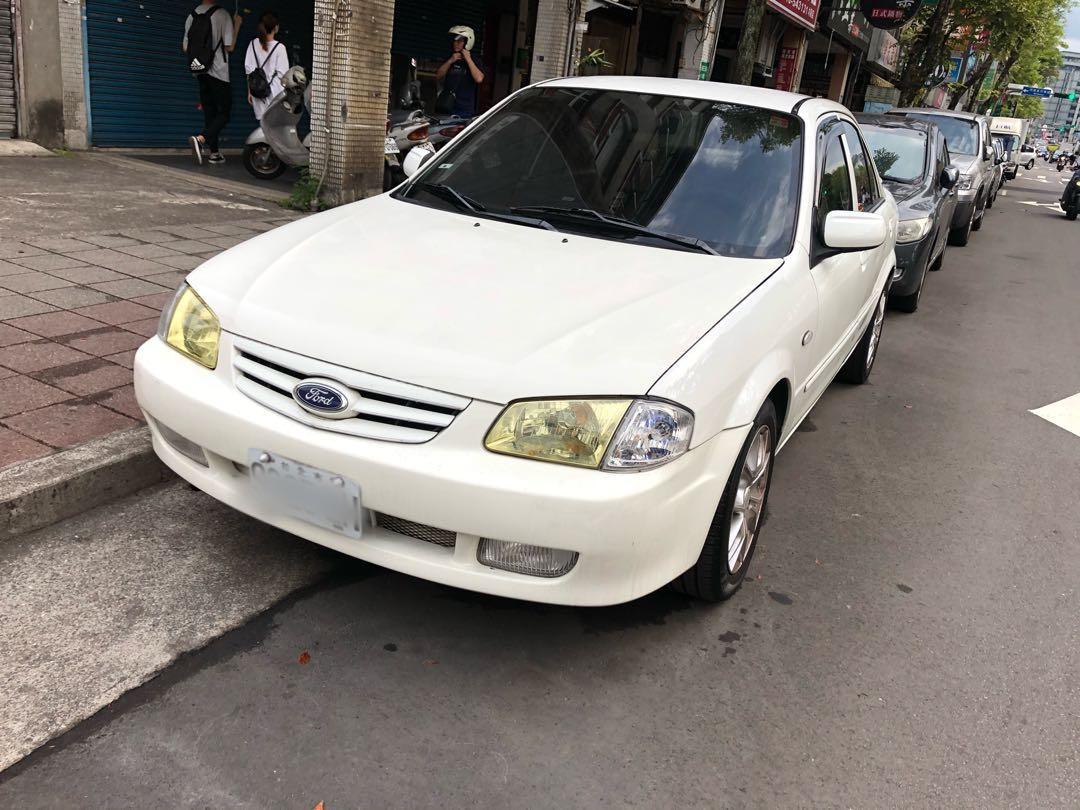 2005年福特FORD TIERRA ACTIVA 1.6 白 便宜代步車 不用懷疑就賣這個價 4萬8開走先搶先贏