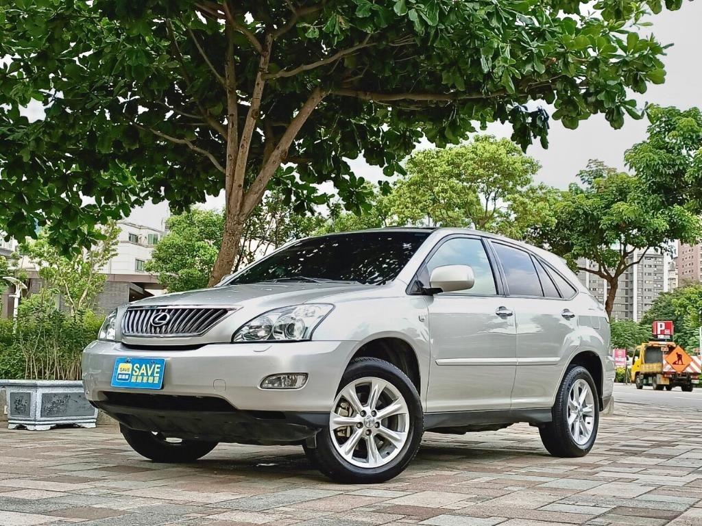 ➡️2007 LEXUS RX 3.5L ✨SAVE認證車 4WD全景天窗 高性能進口休旅 完美漂亮車!!歡迎來電洽詢!