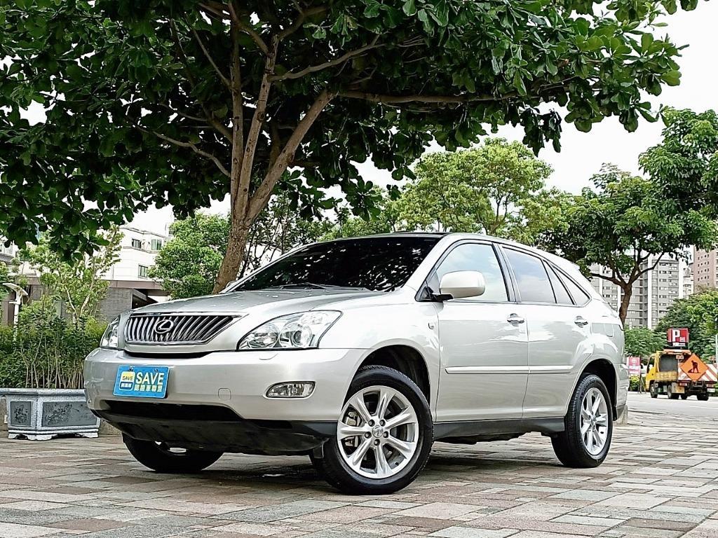新車價226萬 一手車庫車 前車主為國小教師 2007年 凌志 RX350 放假出遊才有開 可全額貸款超貸也可