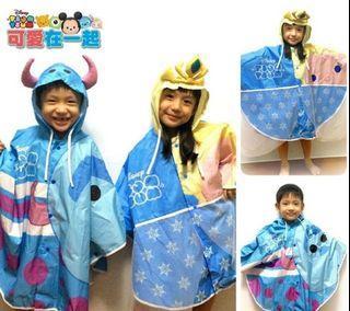 可愛在一起 愛莎兒童版 雨衣