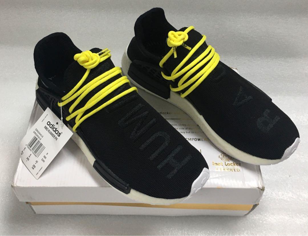 Adidas NMD Human Race Black Yellow, Men