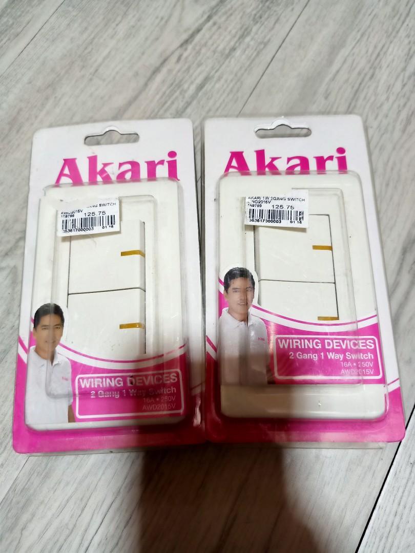 Akari Switch Home Furniture Furniture Fixtures Lighting And