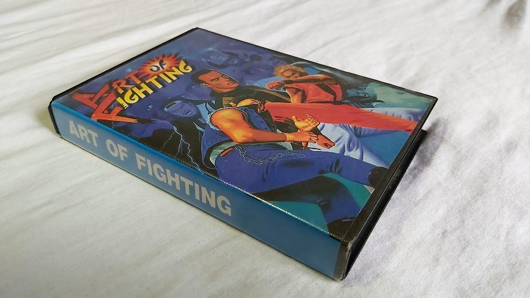 Art Of Fighting Sega Genesis Toys Games Video Gaming Video