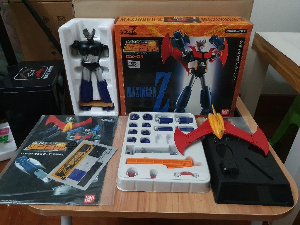 Maginger Z Soul of Chogokin GX-01 Figure Bandai Japan USED