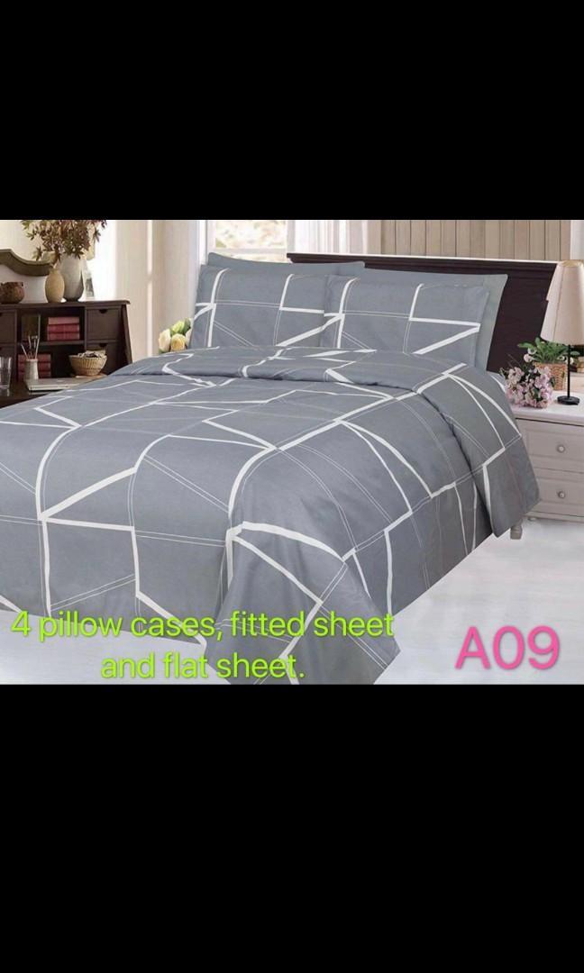Bedsheet and quilt set