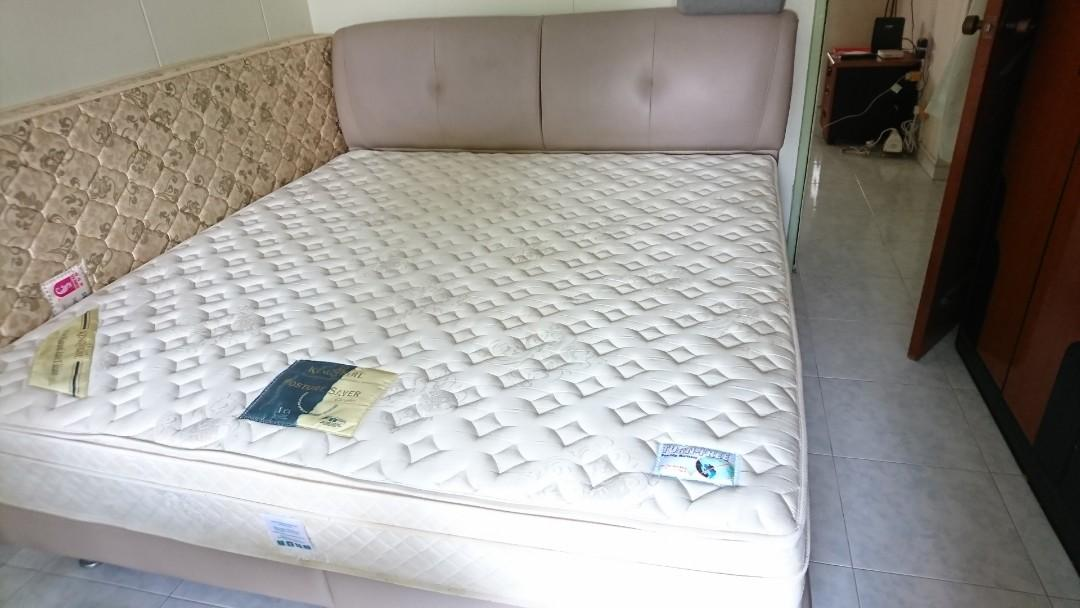 Cheap Kingkoil King Size Bed Frame And Mattress Furniture Beds Mattresses On Carousell