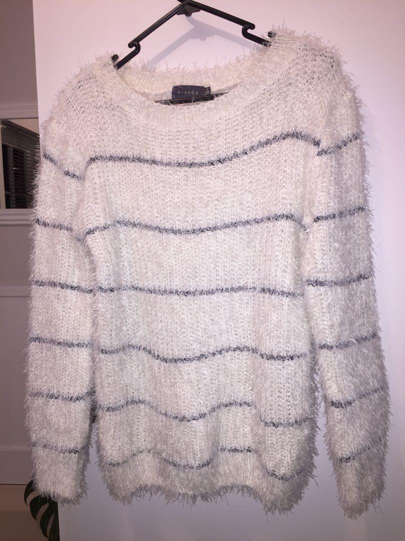 Fluffy jumper