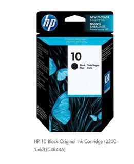 HP 10 Black Original Ink Cartieidge (C4844A)