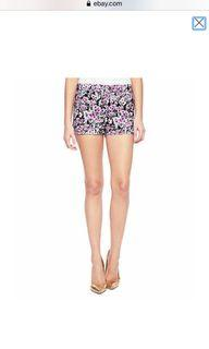 Juicy Couture pink floral shorts