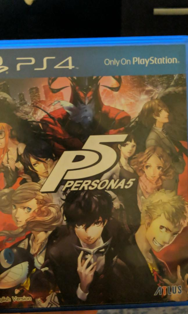 Kaset PS4 Persona 5