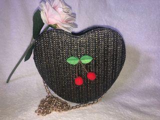 Korean heart shape sling bag