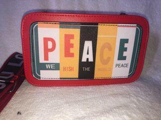 """Korean SLING BAG """"PEACE"""""""