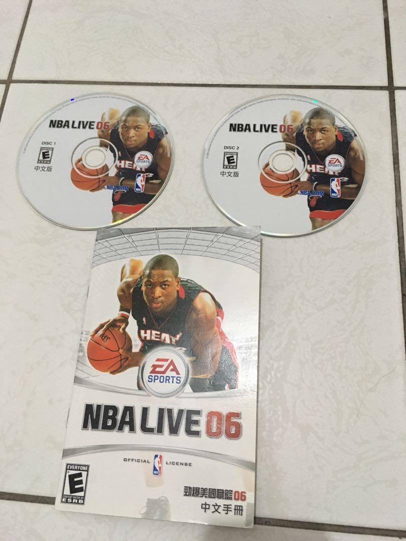 NBA LIVE 06 中文版PC版