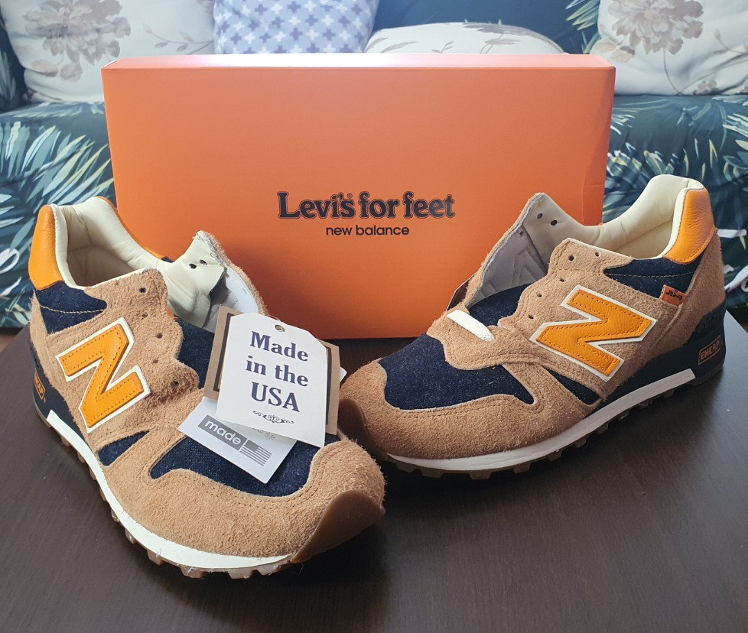 Café Casco Capilares  New Balance Levi's for feet, Men's Fashion, Footwear, Sneakers on Carousell