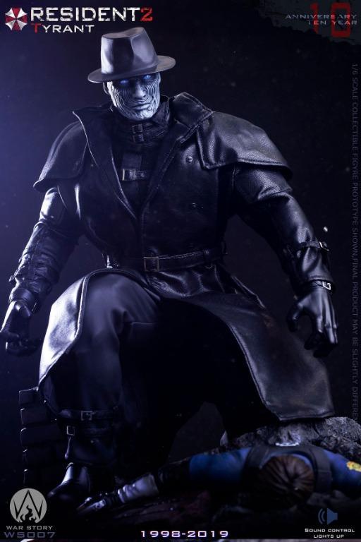 Po War Story Ws007b Resident Evil 2 Tyrant 1 6 Figure Basic Toys