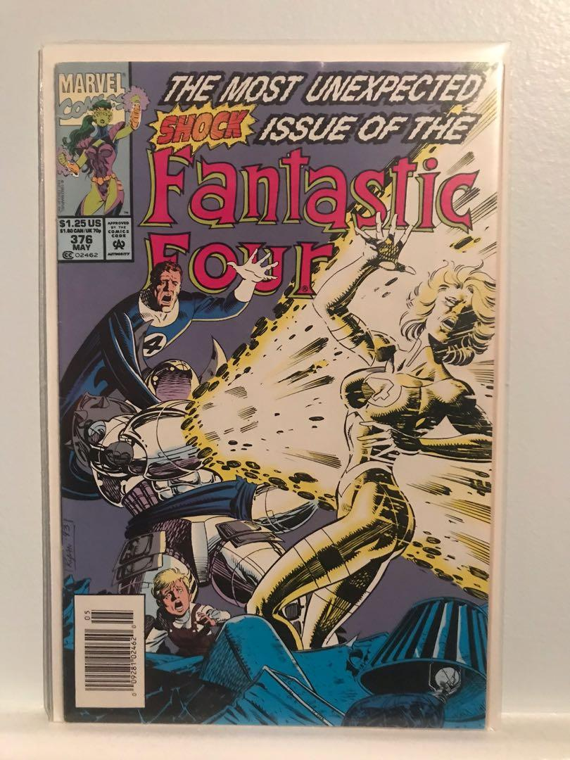 SELLING FANTASTIC FOUR #376!