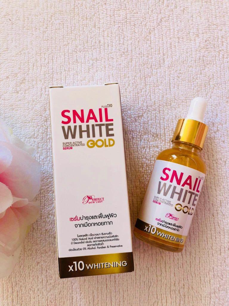Snail white serum gold