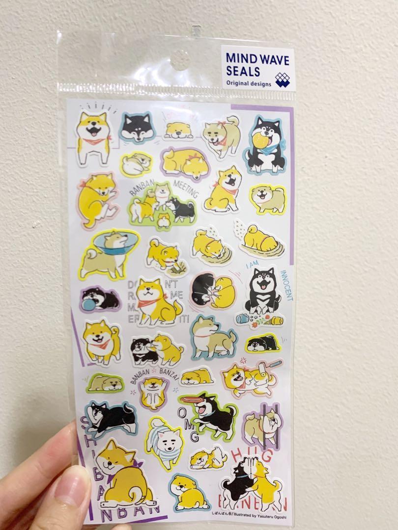 Stiker Shiba Inu Asli Jepang