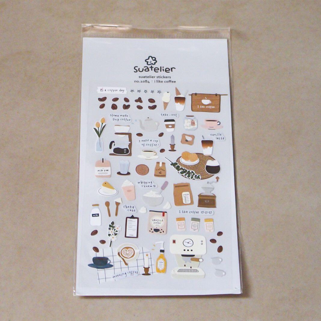 Suatelier Sticker (i like coffee) | Stickers | Stiker