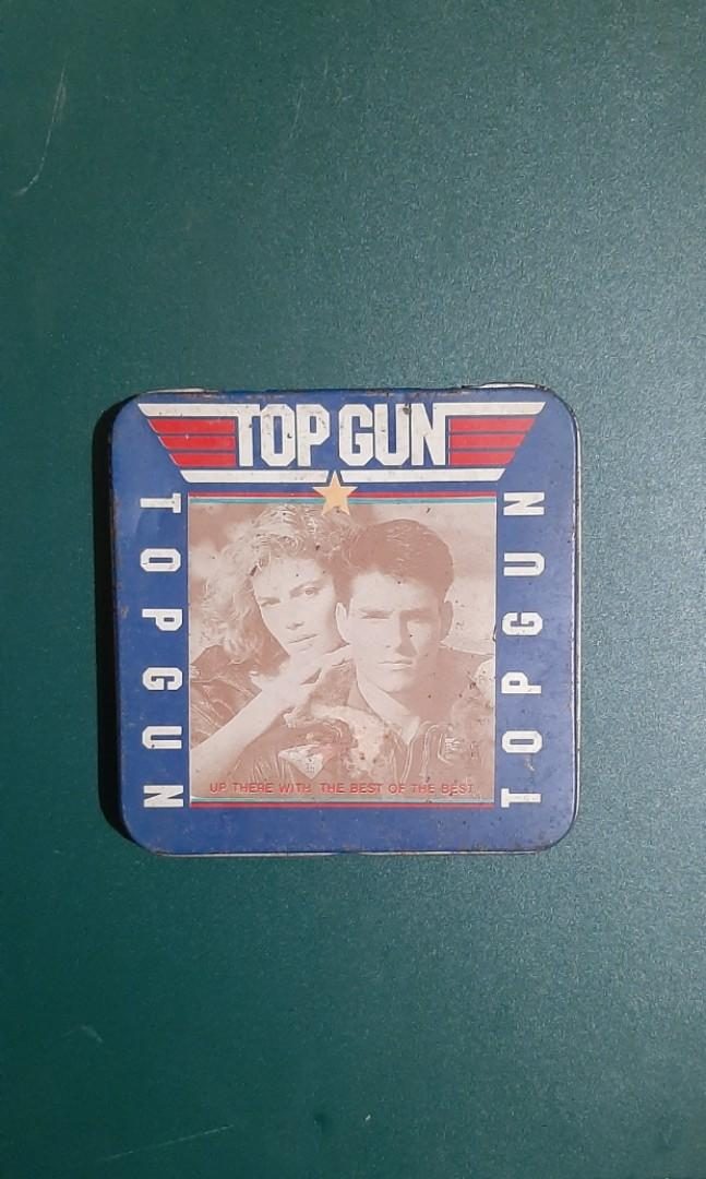 Tom Cruise Top Gun 80 S Old Tin Case Everything Else Others On Carousell