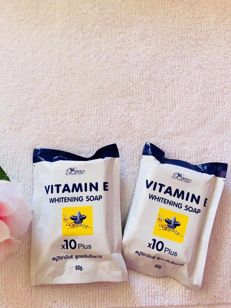 Vitamin E whitening soap