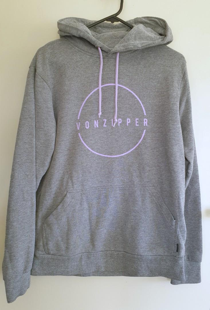 Vonzipper hoodie