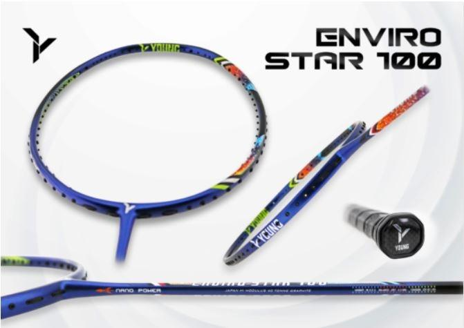 Yang Yang Badminton Racket Enviro Star 100 Sports Sports Games Equipment On Carousell