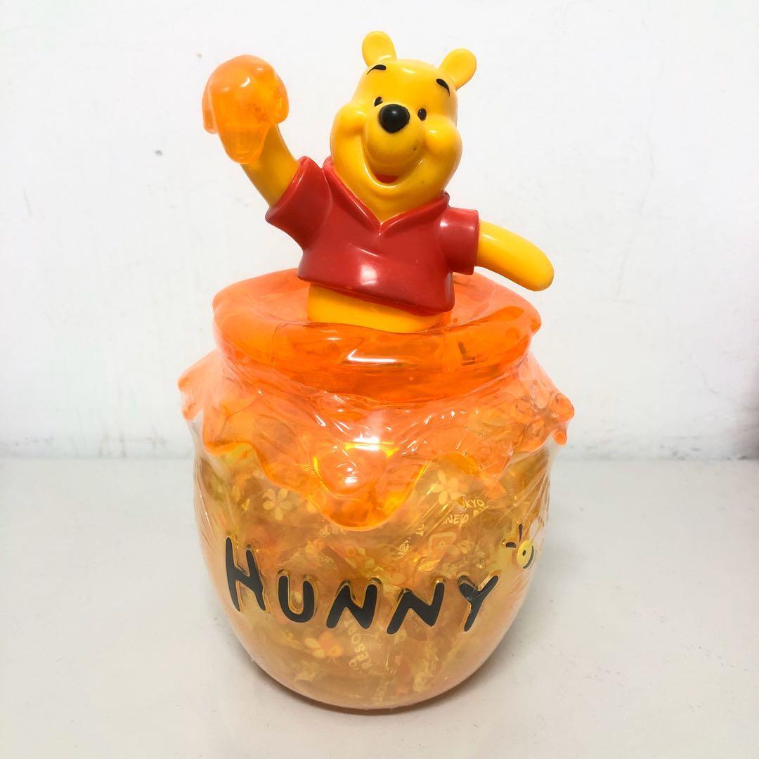 小熊維尼糖果收納罐(糖果已過期)未拆封 #新開始
