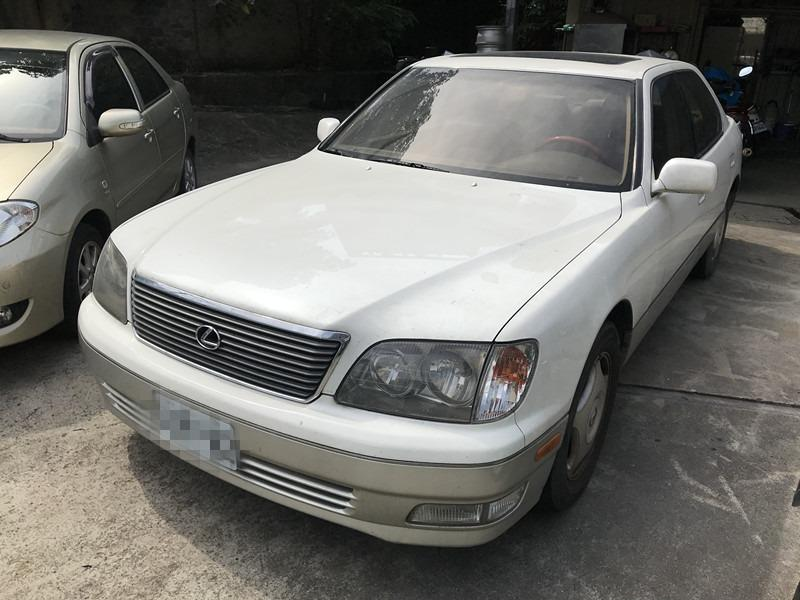 LS400 小改款 經典車款 4.0 升 V8 引擎 290 匹 0~100km/h 7.5 秒