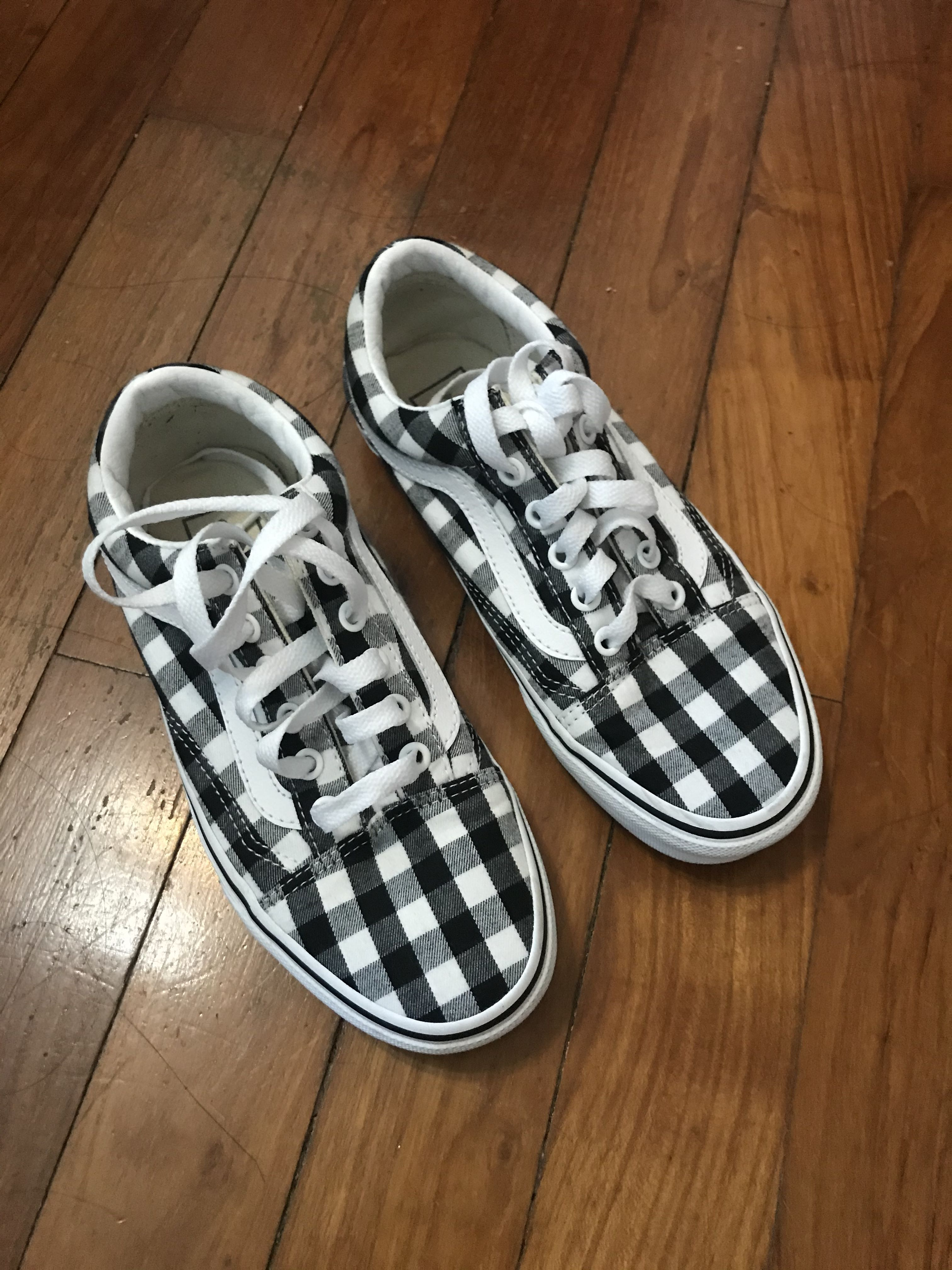 👟 VANS Old Skool Gingham Sneakers