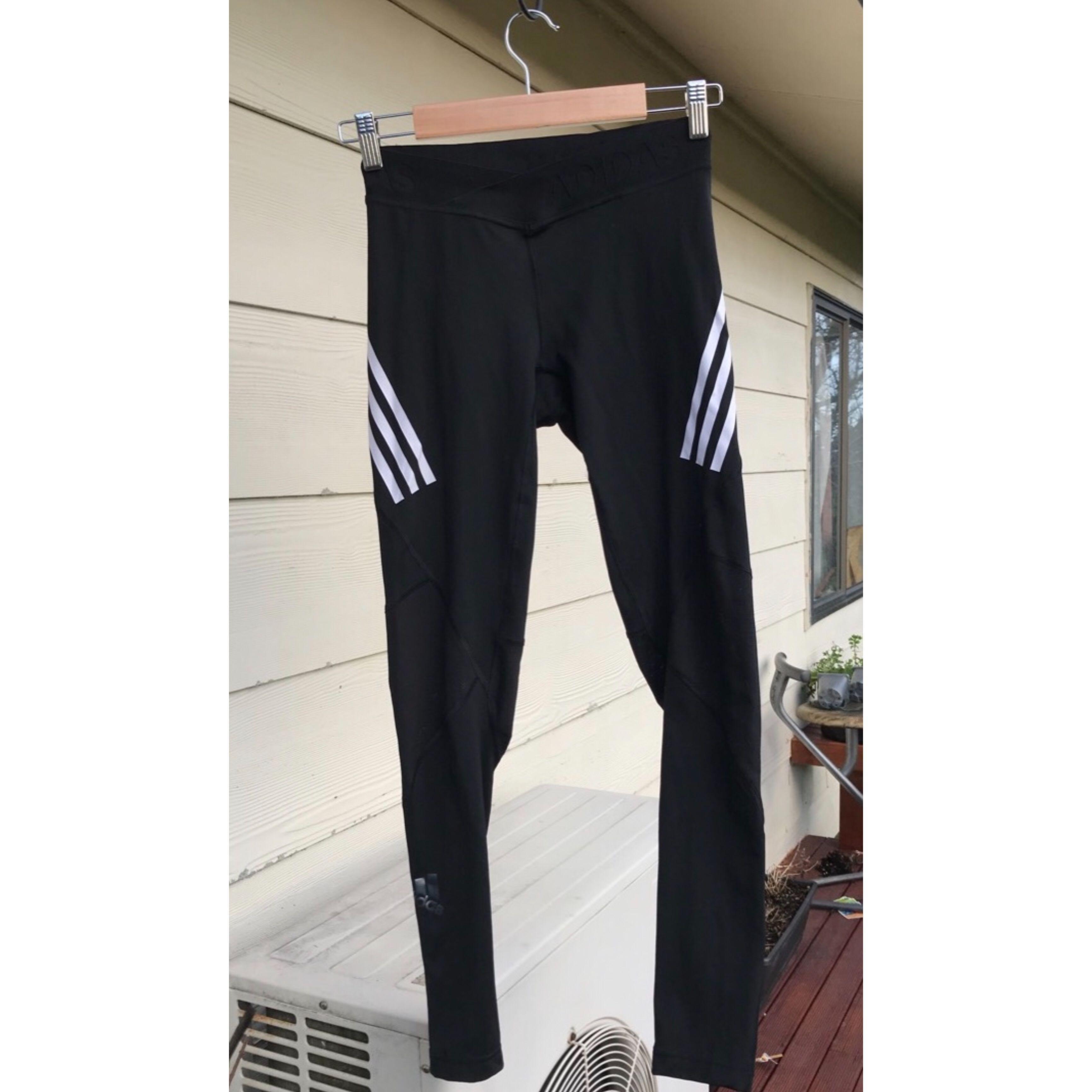 Adidas Alphaskin Sport 3-Stripes Long Tights