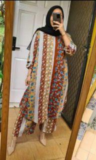 Baju set muslim atasan+bawahan jual murah