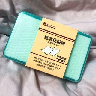 COCORO 樂品 絲薄化妝棉(1000枚)