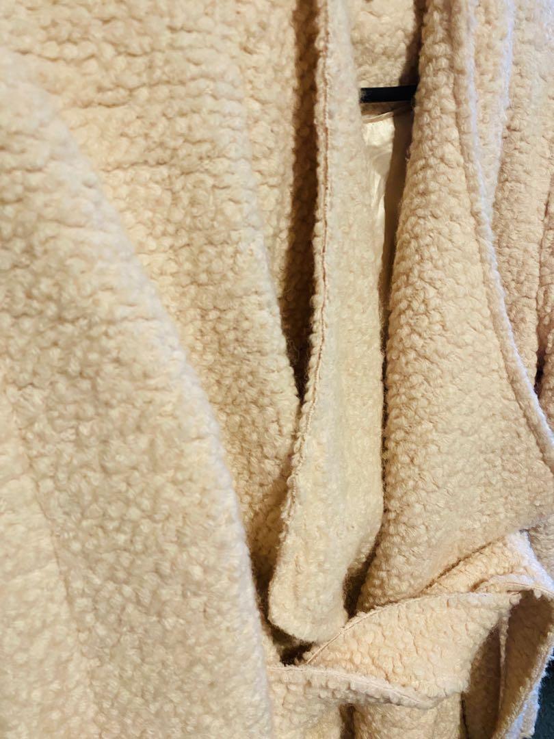 Forever New Fuzzy Coat
