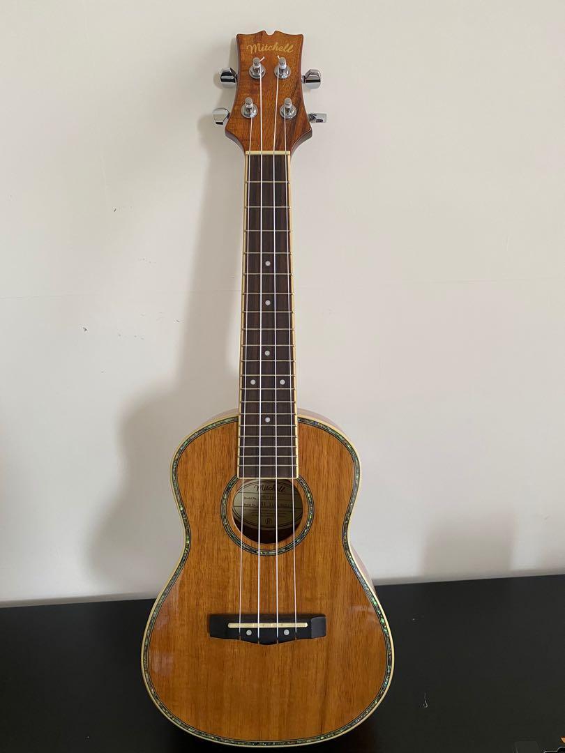作為新產品:Mitchell MU100夏威夷四弦琴和調諧器