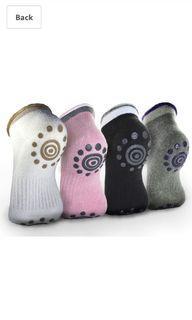 rahabsox 瑜伽防滑棉襪人(一包4雙)