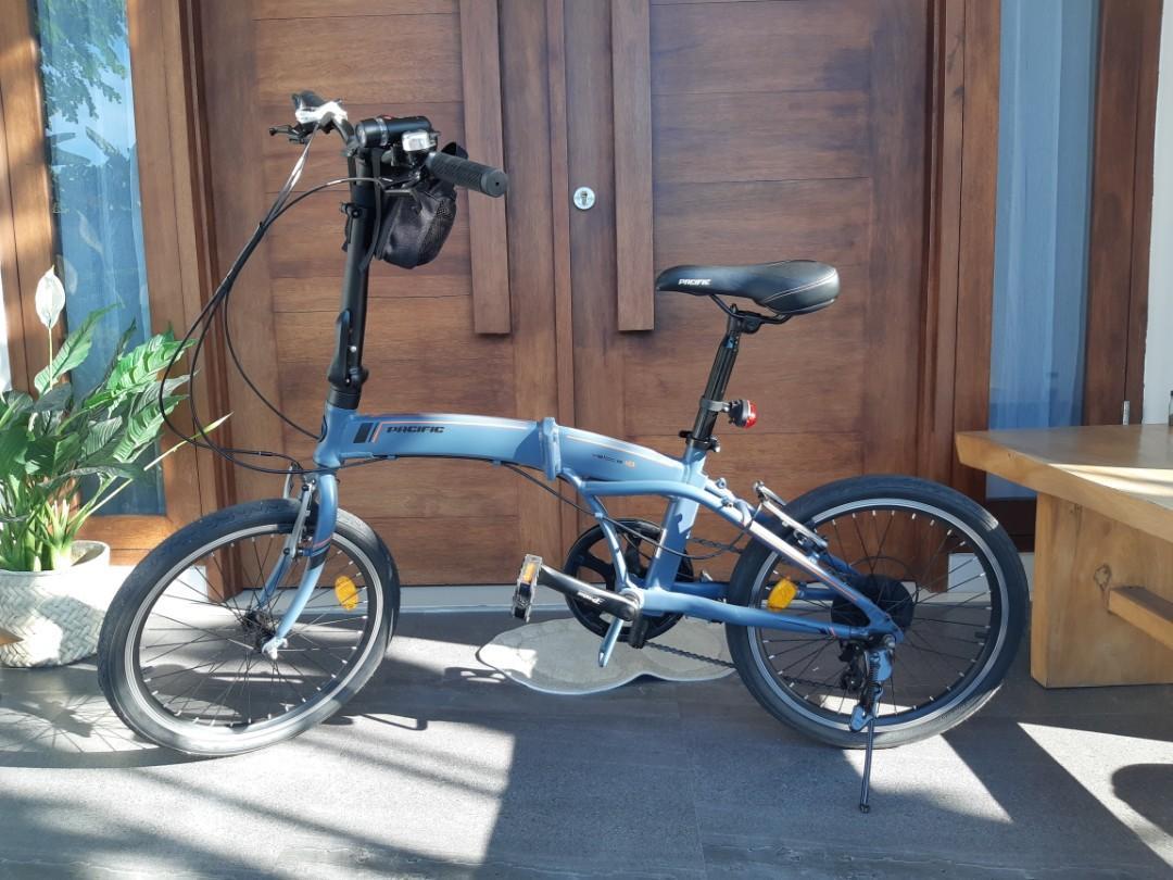 Sepeda Lipat 20 Pacific Veloce 1 0 Olah Raga Sepeda Di Carousell