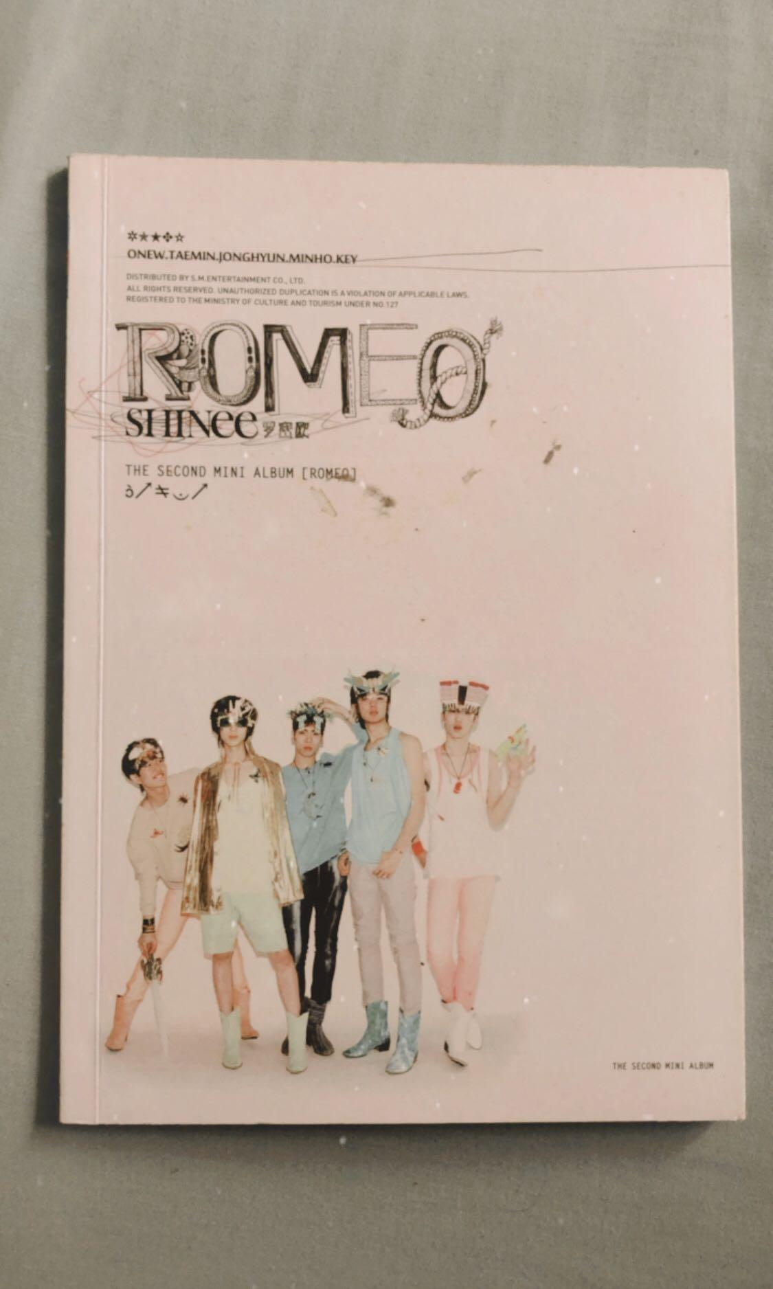 SHINee The Second Mini Album Romeo